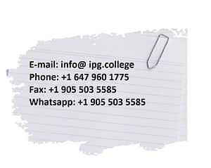 IPG College Pharmacy Practice Exam Preparation Resource Contacts 5 May 2021